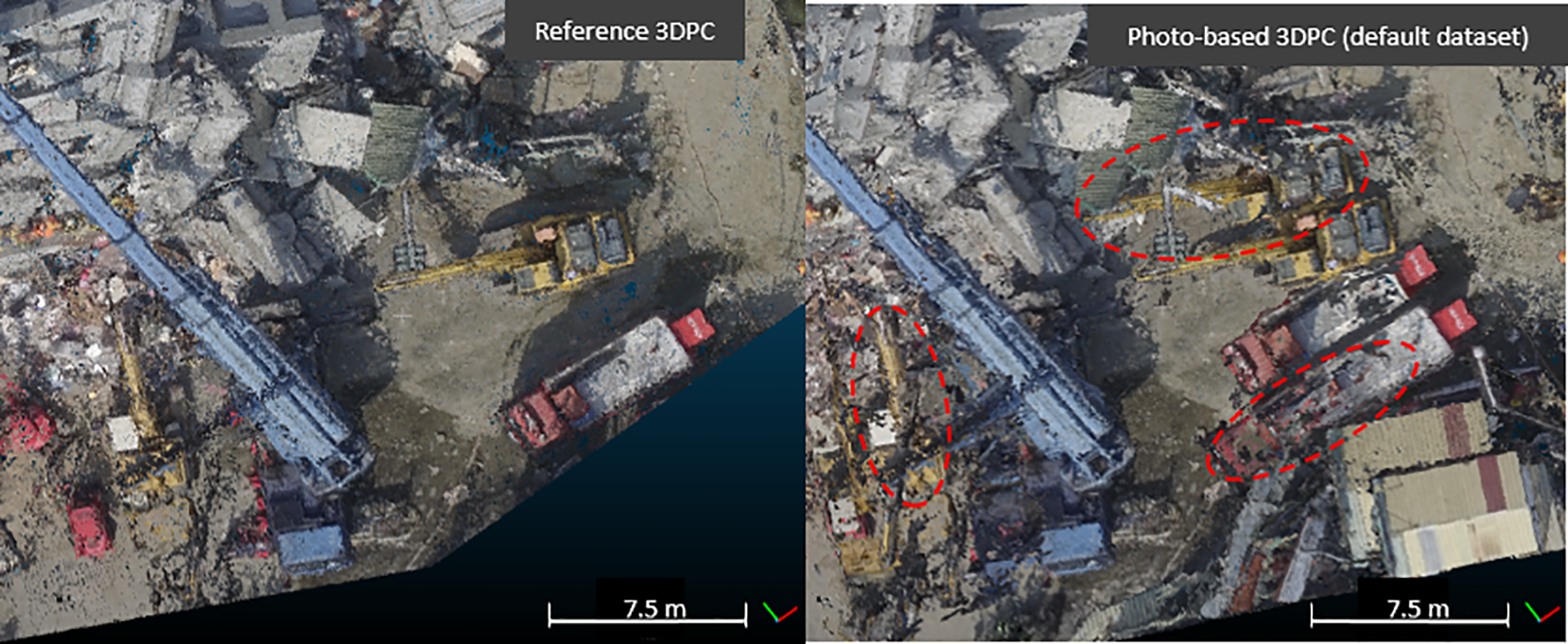 NHESS - Usability of aerial video footage for 3-D scene