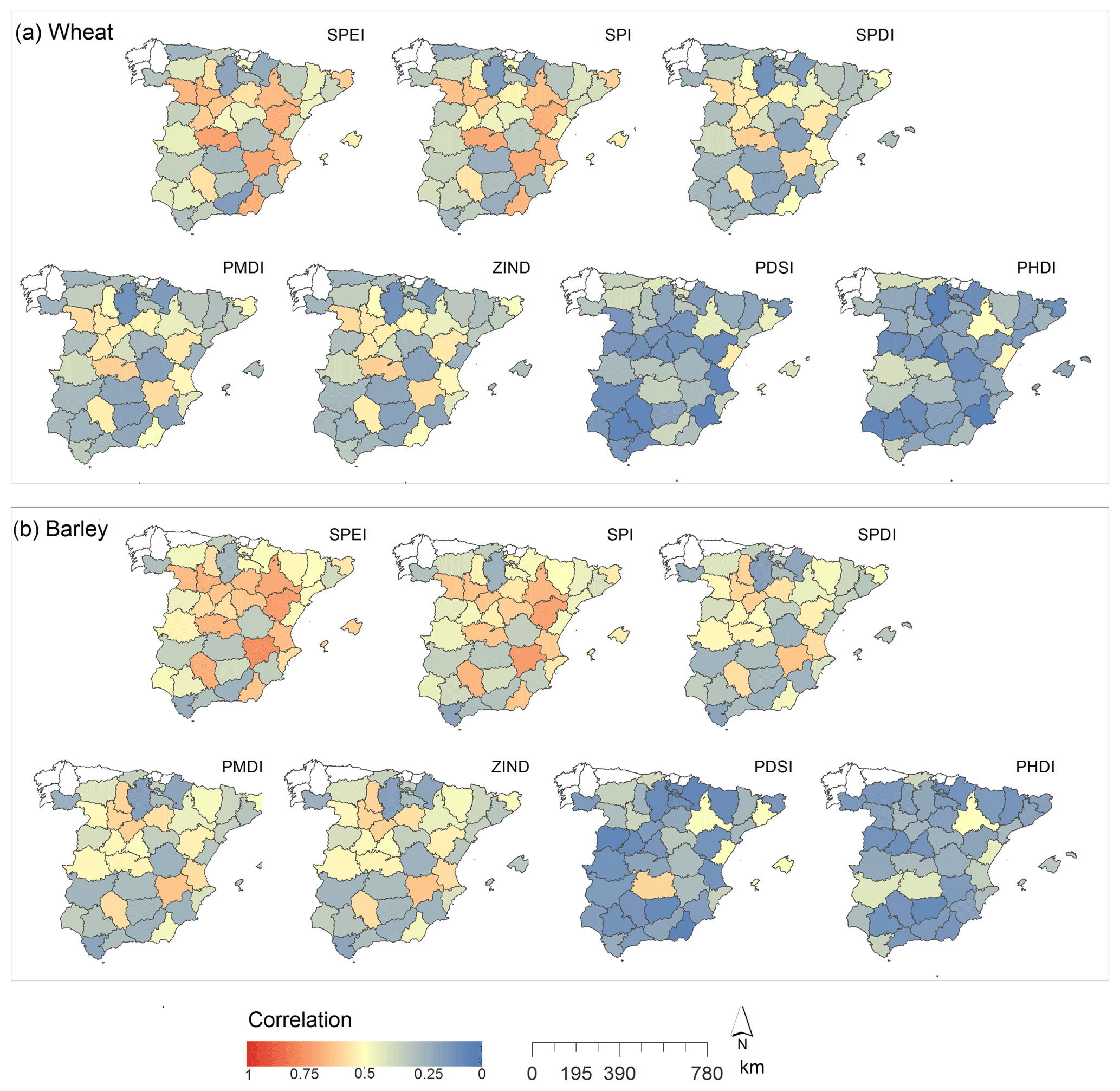 NHESS - The impact of drought on the productivity of two