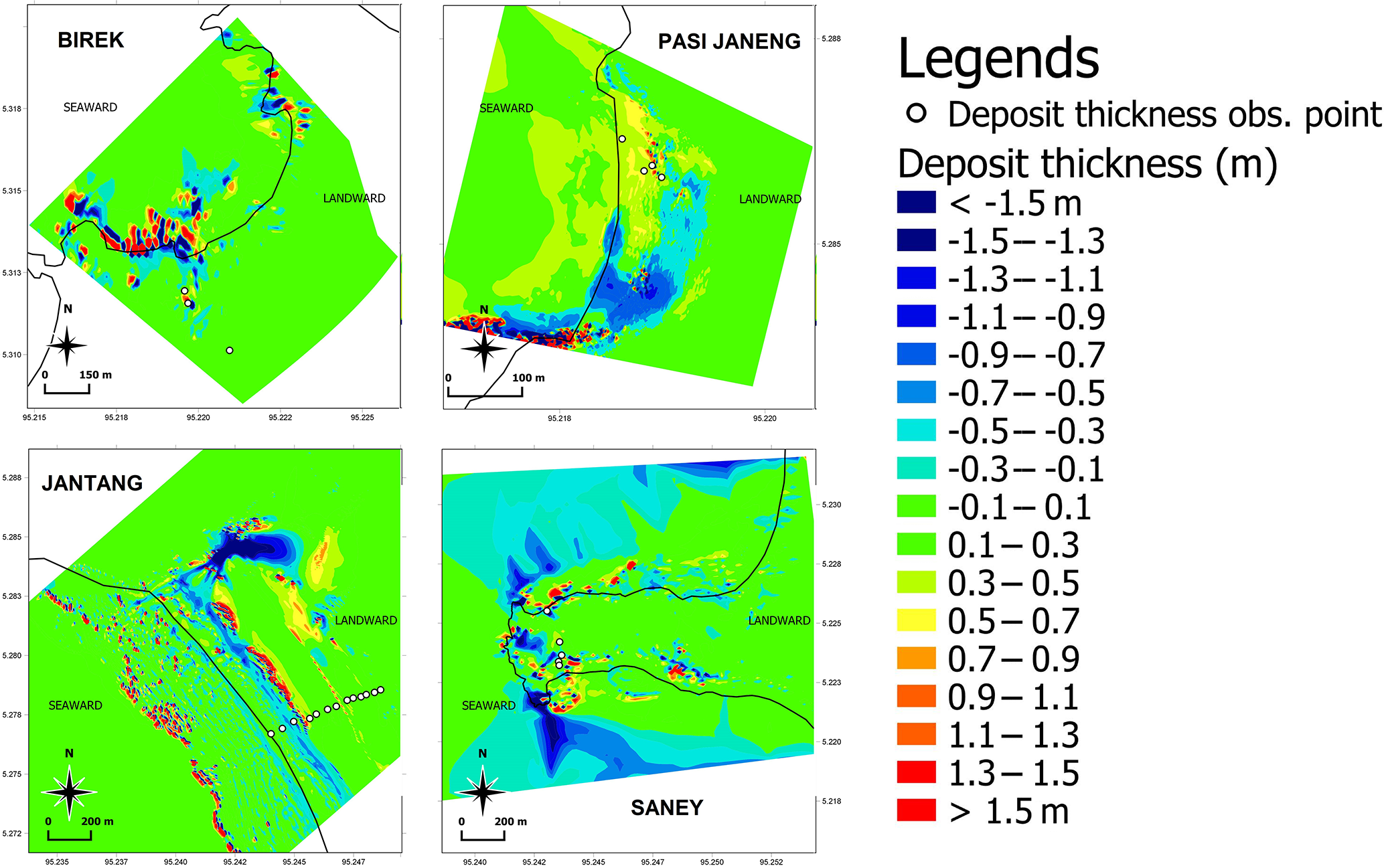 NHESS - Numerical simulations of the 2004 Indian Ocean