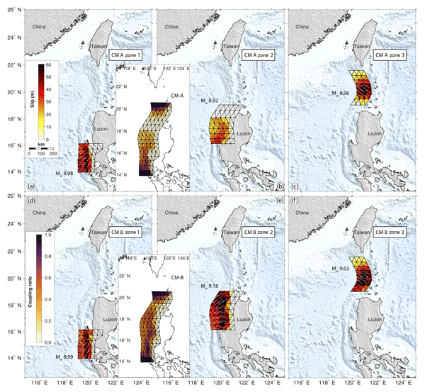 NHESS - Revised earthquake sources along Manila trench for
