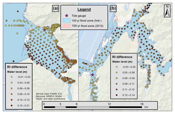 NHESS - The effects of changing climate on estuarine water