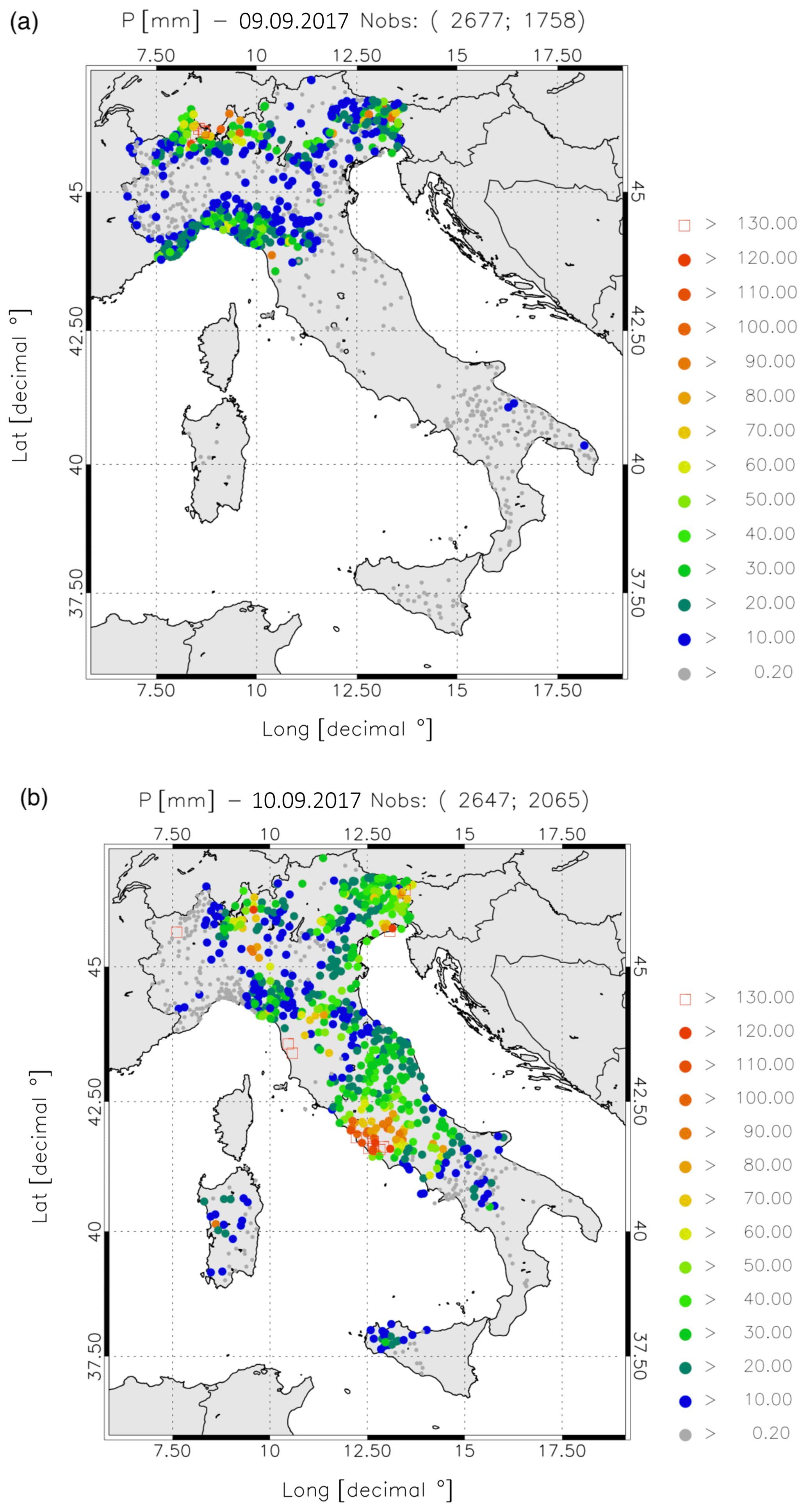 NHESS - The impact of lightning and radar reflectivity