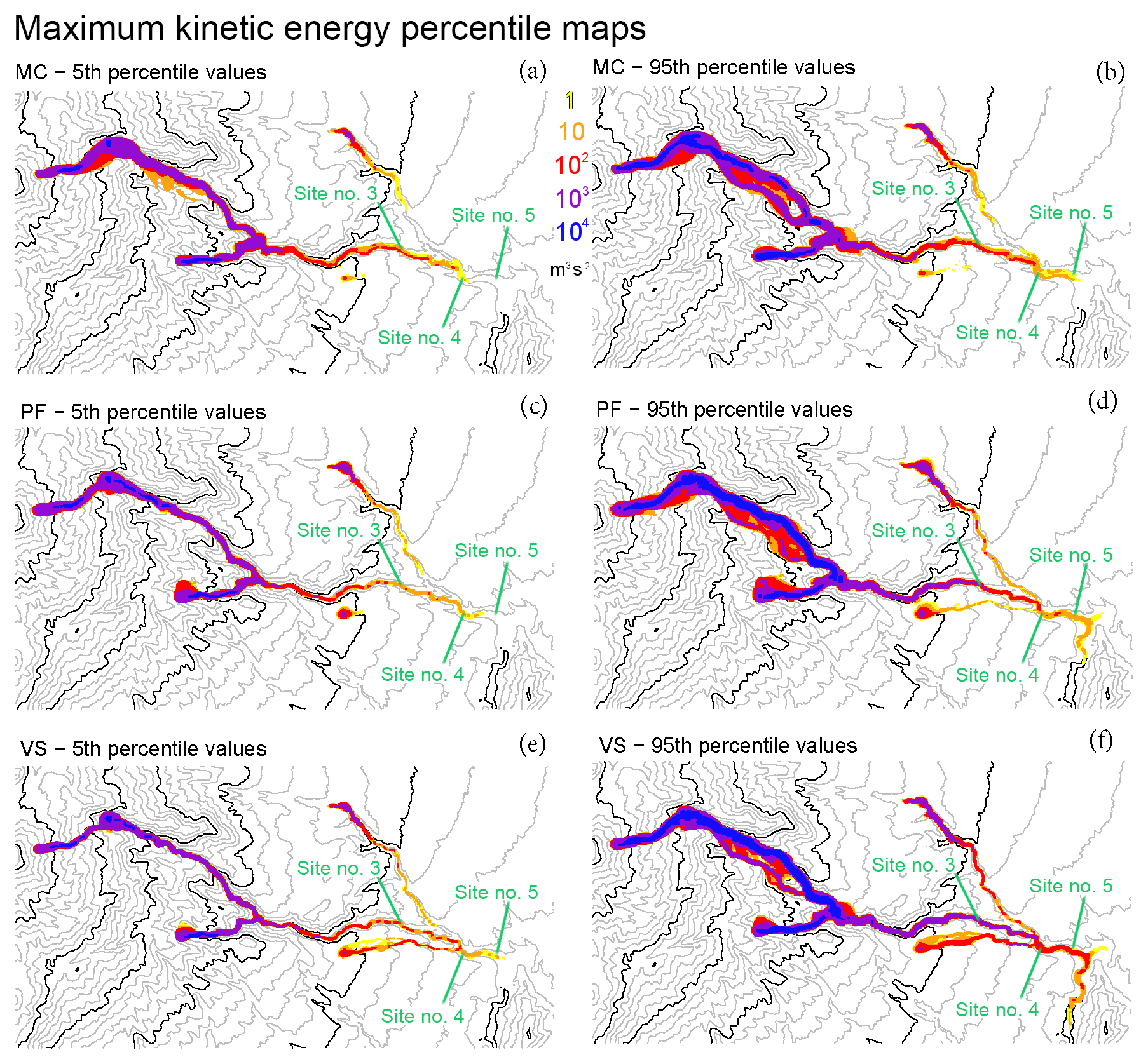 NHESS - Probabilistic forecasting of plausible debris flows