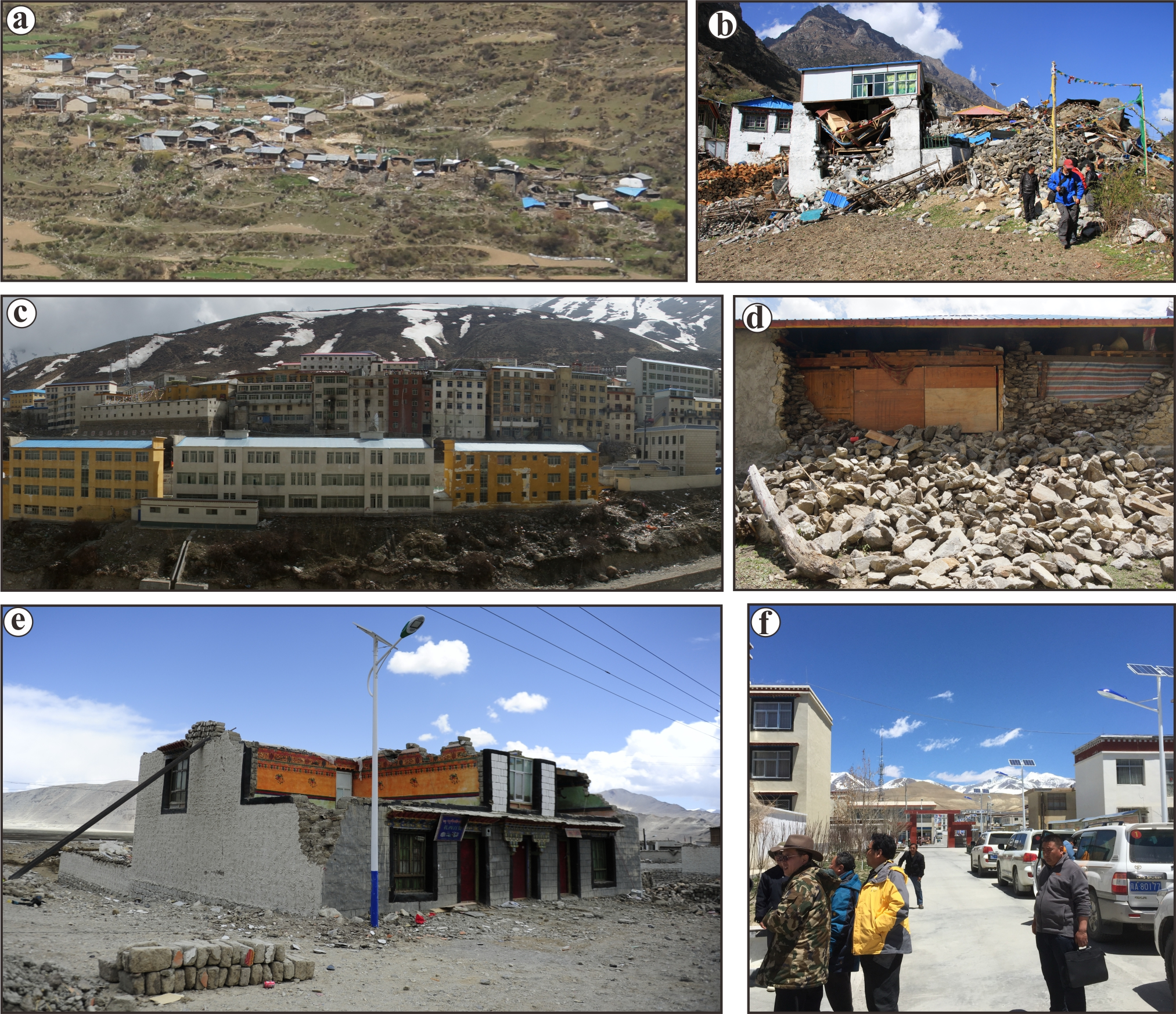 NHESS - Damage induced by the 25 April 2015 Nepal earthquake in the