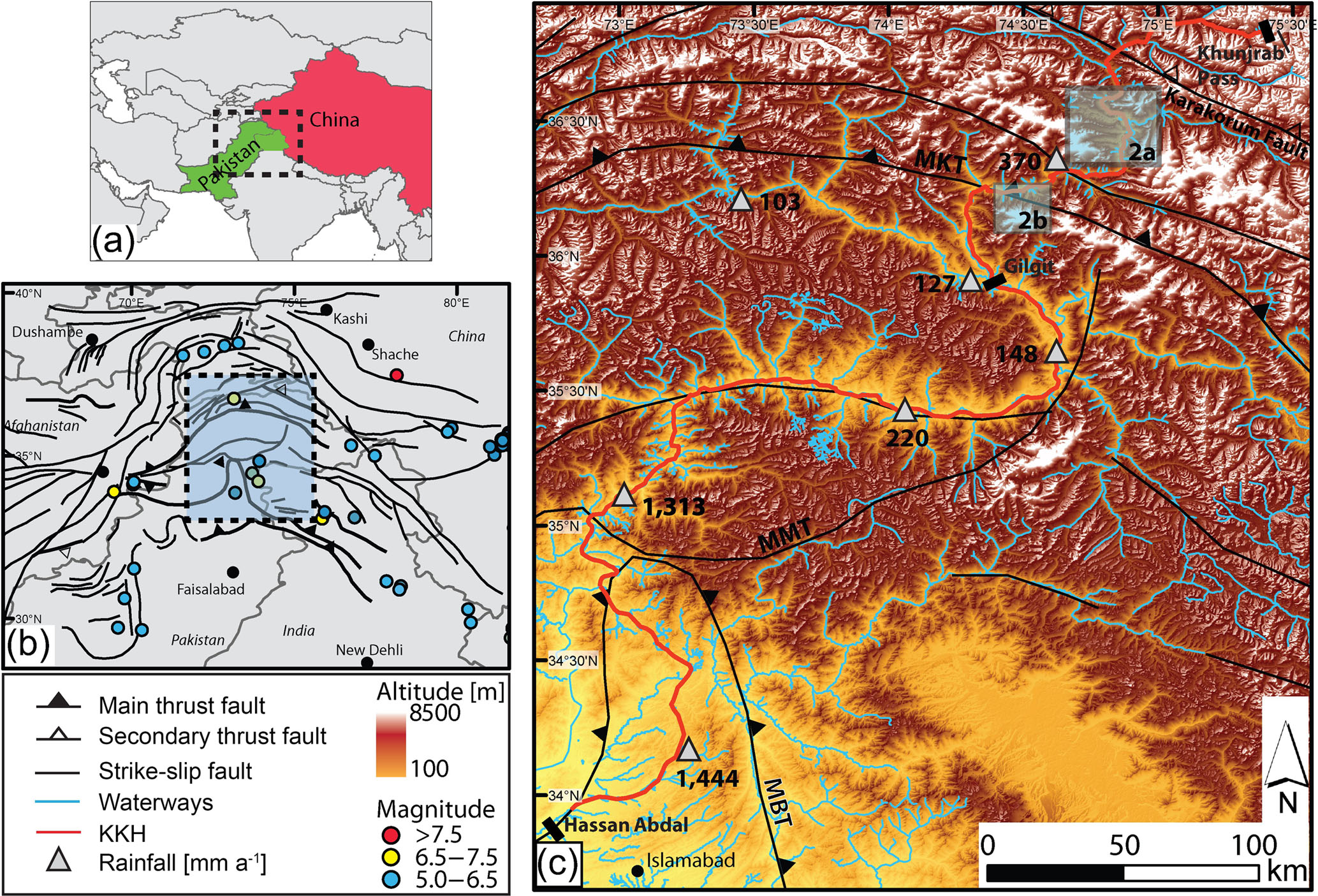 NHESS - Landslide susceptibility mapping by using a